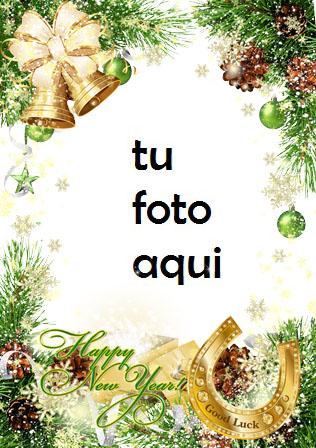 navidad marcos herradura para la buena suerte en el año nuevo marco para foto - navidad marcos herradura para la buena suerte en el año nuevo marco para foto