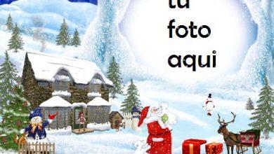 Photo of navidad marcos hogar de santa marco para foto