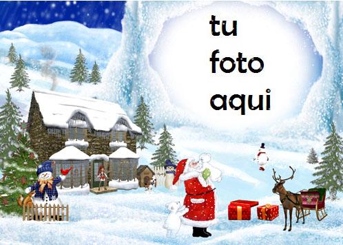 navidad marcos hogar de santa marco para foto - navidad marcos hogar de santa marco para foto