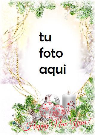 navidad marcos luces de año nuevo marco para foto - navidad marcos luces de año nuevo marco para foto