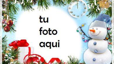 Photo of navidad marcos muñeco de nieve divertido marco para foto