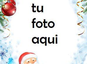 Photo of navidad marcos regalos y sorpresas bajo el abeto de navidad marco para foto
