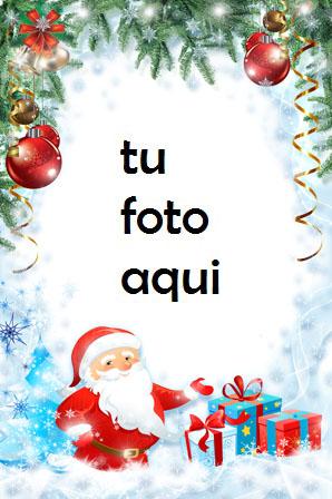 navidad marcos regalos y sorpresas bajo el abeto de navidad marco para foto - navidad marcos regalos y sorpresas bajo el abeto de navidad marco para foto