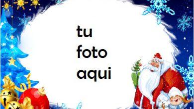 Photo of navidad marcos santa anormal marco para foto