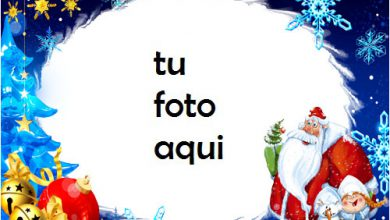 navidad marcos santa anormal marco para foto 390x220 - navidad marcos santa anormal marco para foto