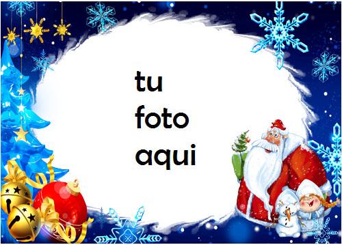 navidad marcos santa anormal marco para foto - navidad marcos santa anormal marco para foto