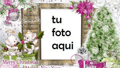 Photo of navidad marcos tiempo mágico de navidad marco para foto
