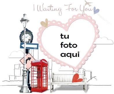 te estoy esperando Marco Para Foto - te estoy esperando Marco Para Foto