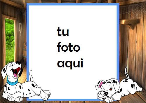 Marco Para Foto 101 Perros Niños Marcos - Marco Para Foto 101 Perros Niños Marcos
