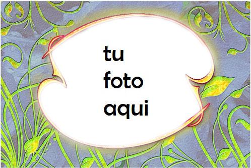 Marco Para Foto Abstracción De Primavera Amor Marcos - Marco Para Foto Abstracción De Primavera Amor Marcos