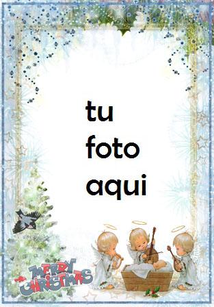 Marco Para Foto Canción De Angelitos Para Bebé Recién Nacido Invierno Marcos 1 - Marco Para Foto Canción De Angelitos Para Bebé Recién Nacido Invierno Marcos
