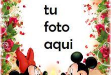 Marco Para Foto Cena Romántica De Mickey Y Minnie Mouse Amor Marcos 220x150 - Marco Para Foto Cena Romántica De Mickey Y Minnie Mouse Amor Marcos