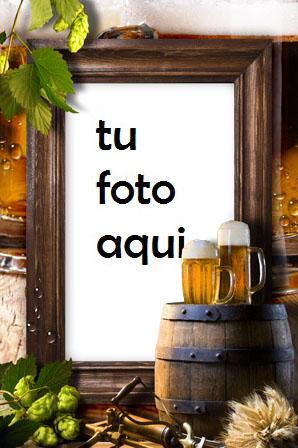 Marco Para Foto Cerveza Para Amigos Primavera Marcos - Marco Para Foto Cerveza Para Amigos Primavera Marcos