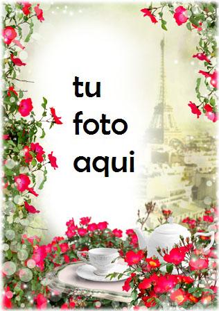 Marco Para Foto Cita Romántica En Paris Amor Marcos - Marco Para Foto Cita Romántica En Paris Amor Marcos