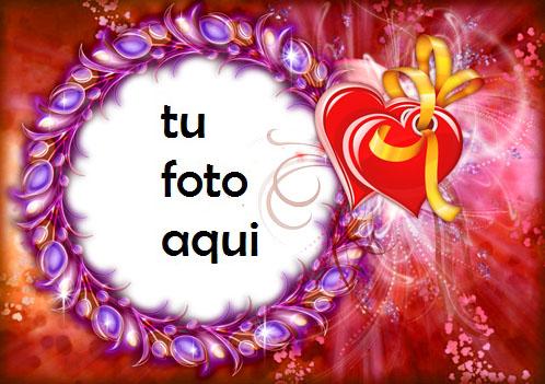 Marco Para Foto Corazones Brillantes Amor Marcos - Marco Para Foto Corazones Brillantes Amor Marcos