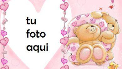 Marco Para Foto Corazones De Osito De Peluche Amor Marcos 390x220 - Marco Para Foto Corazones De Osito De Peluche Amor Marcos