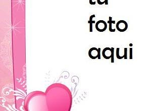 Photo of Marco Para Foto Corazones Preciosos Amor Marcos