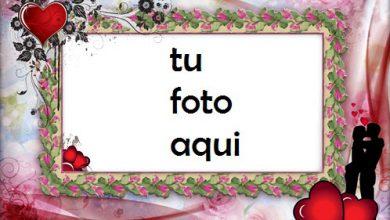 Marco Para Foto Corazones Románticos Amor Marcos 390x220 - Marco Para Foto Corazones Románticos Amor Marcos