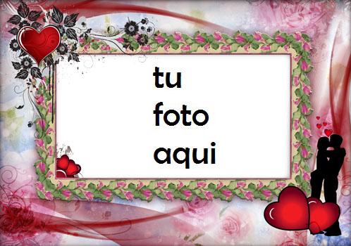 Marco Para Foto Corazones Románticos Amor Marcos - Marco Para Foto Corazones Románticos Amor Marcos