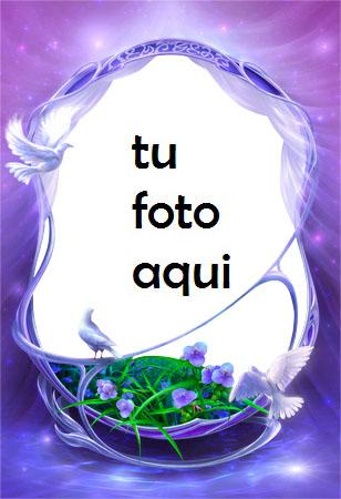 Marco Para Foto Cuento Morado Amor Marcos - Marco Para Foto Cuento Morado Amor Marcos