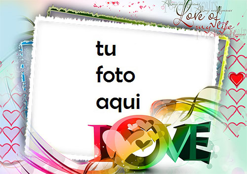 Marco Para Foto Di Que Te Amo El Día De San Valentín Amor Marcos - Marco Para Foto Di Que Te Amo El Día De San Valentín Amor Marcos