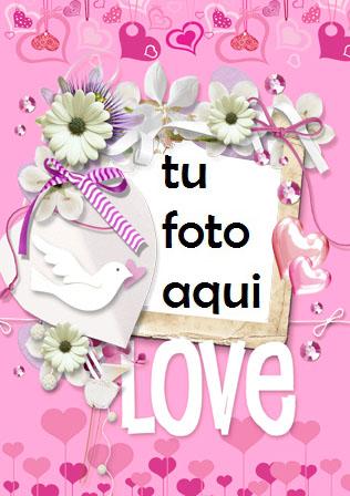 Marco Para Foto El Amor Está En El Aire Amor Marcos - Marco Para Foto El Amor Está En El Aire Amor Marcos