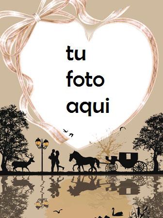 Marco Para Foto Encuentros Románticos Bajo La Luna Amor Marcos - Marco Para Foto Encuentros Románticos Bajo La Luna Amor Marcos