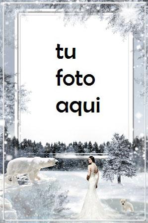 Marco Para Foto Frío Invierno Marcos 1 - Marco Para Foto Frío Invierno Marcos