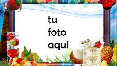 Photo of Marco Para Foto Frutas Frescas Variedad Marcos