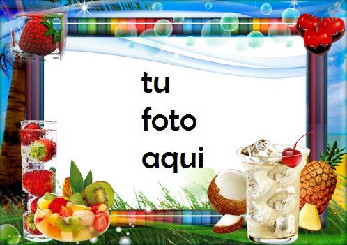 Marco Para Foto Frutas Frescas Variedad Marcos - Marco Para Foto Frutas Frescas Variedad Marcos