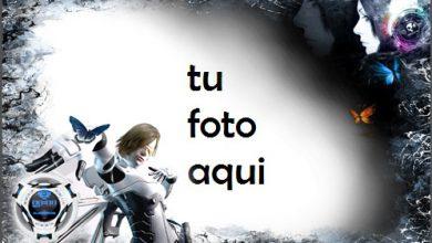 Photo of Marco Para Foto Futurista En Blanco Y Negro Variedad Marcos