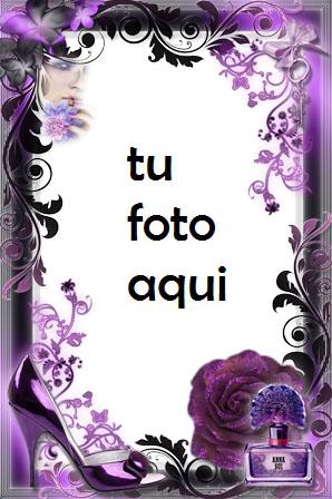 Marco Para Foto Glamour Púrpura Amor Marcos - Marco Para Foto Glamour Púrpura Amor Marcos