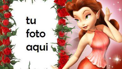 Marco Para Foto Hada Roja Amor Marcos 390x220 - Marco Para Foto Hada Roja Amor Marcos