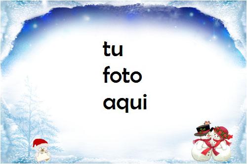 Marco Para Foto Invierno Mágico Invierno Marcos 1 - Marco Para Foto Invierno Mágico Invierno Marcos