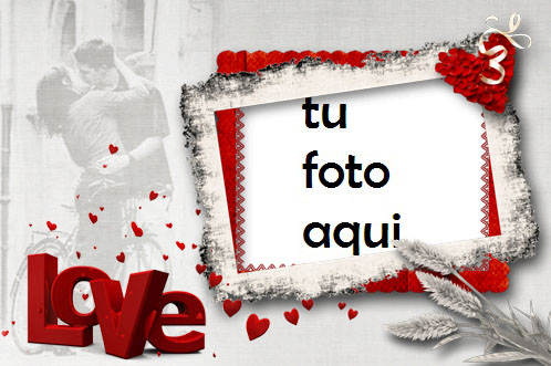 Marco Para Foto Locura De Amor Rojo Amor Marcos - Marco Para Foto Locura De Amor Rojo Amor Marcos