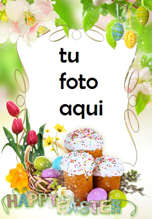 Marco Para Foto Magia De La Mañana De Pascua Primavera Marcos - Marco Para Foto Magia De La Mañana De Pascua Primavera Marcos