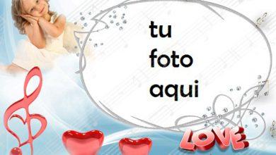 Marco Para Foto Melodía De Corazones Amor Marcos 390x220 - Marco Para Foto Melodía De Corazones Amor Marcos