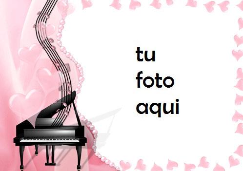 Marco Para Foto Melodía Del Corazón Amor Marcos - Marco Para Foto Melodía Del Corazón Amor Marcos