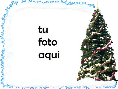 Marco Para Foto Noche Antes De Navidad En Estilo Retro Invierno Marcos 1 - Marco Para Foto Noche Antes De Navidad En Estilo Retro Invierno Marcos