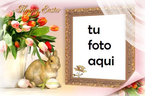 Marco Para Foto Pascua Familiar Primavera Marcos - Marco Para Foto Pascua Familiar Primavera Marcos