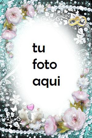 Marco Para Foto Peonias Encanto Y Belleza Amor Marcos - Marco Para Foto Peonias Encanto Y Belleza Amor Marcos