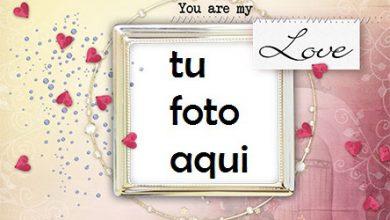 Photo of Marco Para Foto Pequeños Corazones A Tu Alrededor Amor Marcos
