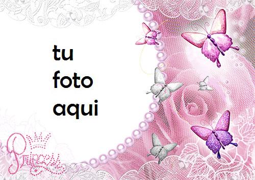 Marco Para Foto Princesa Rosa Amor Marcos - Marco Para Foto Princesa Rosa Amor Marcos