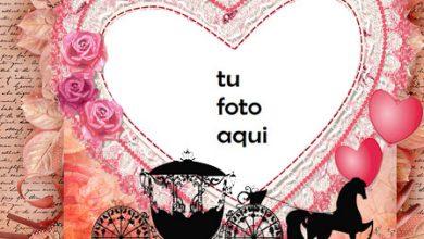 Photo of Marco Para Foto Romantico Como En Los Dias De Caballeros Amor Marcos
