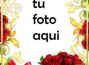 Photo of Marco Para Foto Rosas En Tu Cumpleaños Amor Marcos