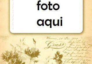Marco Para Foto Tarjeta Postal Antigua Amor Marcos 317x220 - Marco Para Foto Tarjeta Postal Antigua Amor Marcos