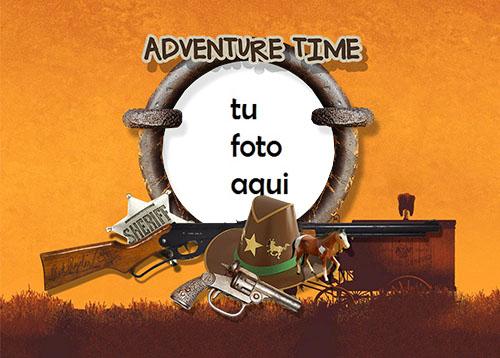 Marco Para Foto Tiempo De Aventura Variedad Marcos - Marco Para Foto Tiempo De Aventura Variedad Marcos