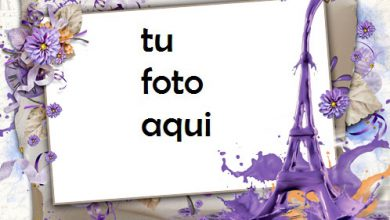 Marco Para Foto Tiempo Romántico Bajo La Torre Eiffel Amor Marcos 390x220 - Marco Para Foto Tiempo Romántico Bajo La Torre Eiffel Amor Marcos