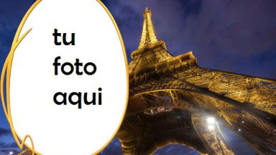 Photo of Marco Para Foto Torre Eiffel De París Amor Marcos