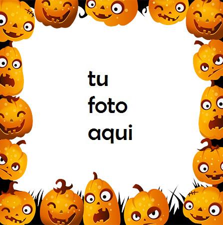 marco para foto borde de marco de halloween con golosinas para niños halloween marcos - marco para foto borde de marco de halloween con golosinas para niños halloween marcos